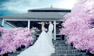 Nơi làm phông chụp ảnh ở đám cưới