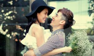 Huỳnh Như làm 'cô dâu' của Minh Trung