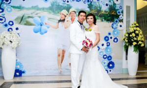 Cô dâu tự thiết kế váy đuôi cá cho đám cưới