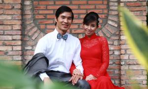 Trang phục cưới của cô dâu giản dị