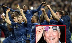 Web phim người lớn sập mạng vì Pháp thắng