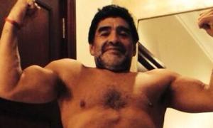 Maradona quyết giảm cân vì bồ trẻ