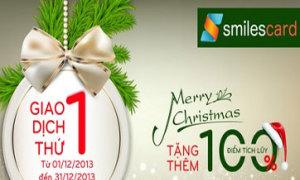 SmilesCard - mua sắm, giải trí tiết kiệm dịp cuối năm