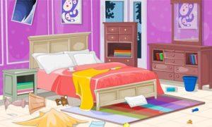 Phòng ngủ bừa bộn