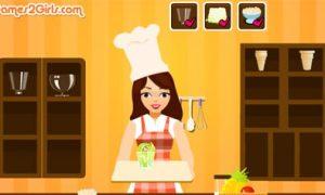 Cô gái làm kem