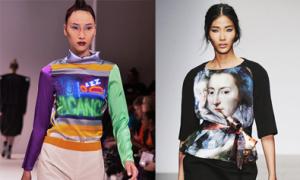 Hoàng Thùy, Huyền Trang tự tin catwalk ở London