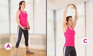 6 động tác giúp thân hình thon gọn