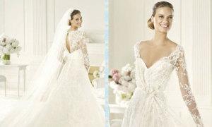 Cách chọn váy cưới che vòng eo to