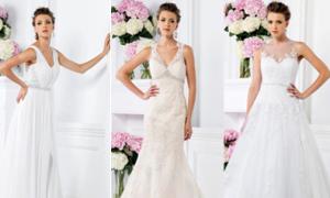 Bí quyết mặc đẹp 4 dáng váy cưới cơ bản
