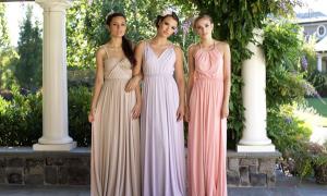 Váy phù dâu thướt tha dễ tái sử dụng