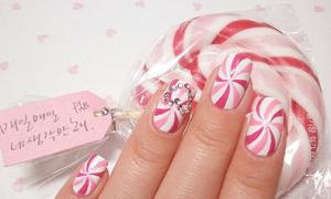Nail kẹo ngọt đáng yêu cho nàng xì tin