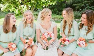 7 xu hướng thời trang cho váy phù dâu