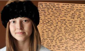 Cô bé 12 tuổi để lại lời nhắn xúc động trước khi chết