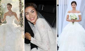 Sao cùng chọn váy cưới Monique Lhuillier
