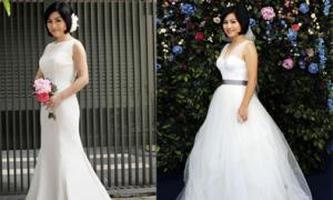 Chọn váy cưới cho cô dâu người đầy đặn