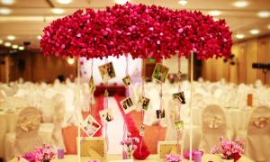 Tự trang trí hoa cho đám cưới