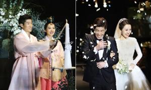 Đám cưới ngập tràn tiếng cười của Park Ji Sung