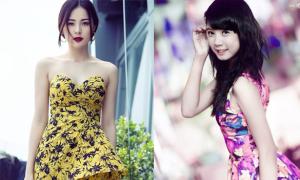 Người đẹp Miss Ngôi Sao rực rỡ với váy hoa