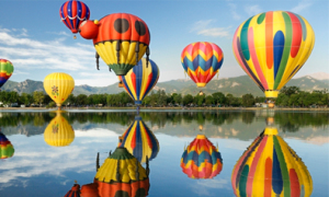 Choáng ngợp với 12 lễ hội khinh khí cầu đầy màu sắc