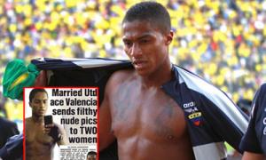 Valencia gửi ảnh sex 'câu' hai chân dài