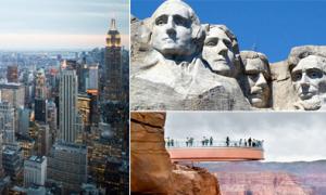 Lưu 20 điểm đến cho hành trình chinh phục nước Mỹ