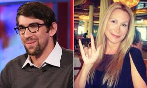 Michael Phelps hẹn hò với người đẹp lưỡng tính U50