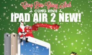 'Cùng đón Giáng sinh - cùng rinh iPad' tại AMA