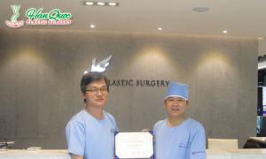 Bác sĩ Tú Dung nhận tác quyền về nâng mũi S line