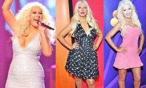 Thực đơn giảm 22 kg của Christina Aguilera