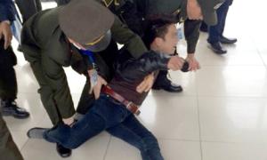 Nam thanh niên 'ngáo đá' gây náo loạn sân bay Nội Bài