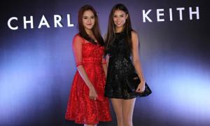 Hoàng Anh, Hồng Quế xinh tươi tại 'Fashion Night'