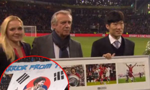Park Ji Sung được PSV tiếp đón như người hùng