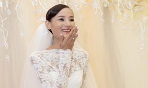 Váy cưới giúp Lê Thúy biến nhược thành ưu