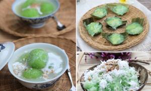 10 đồ ăn vừa đẹp vừa thơm nhờ lá nếp