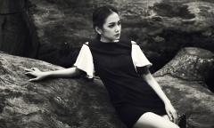 Châu Diệu Minh ấn tượng với bộ ảnh đen trắng