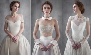 Váy cưới phong cách Hàn Quốc trẻ trung, hiện đại