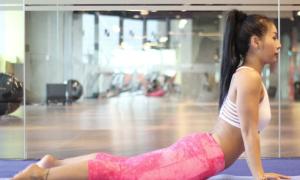 10 tư thế yoga cho vòng eo con kiến