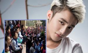 Hàng trăm học sinh tiểu học hát hit của Sơn Tùng M-TP