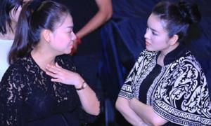 Lý Nhã Kỳ khen Thu Minh 'bầu mà nhảy sung'