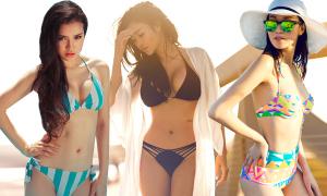 Sao Việt với mốt bikini mới nhất hè 2015