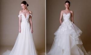 Váy cưới xuân 2016 lãng mạn của Marchesa