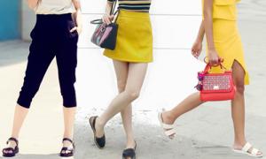 Sao Việt mê mẩn sandal, dép lê mùa hè