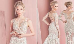 Váy cưới Zuhair Murad đẹp thần tiên, mong manh