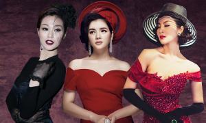 Người đẹp Việt điệu đà với style cổ điển