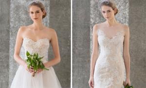 9 váy cưới cúp ngực gợi cảm của Jenny Lee