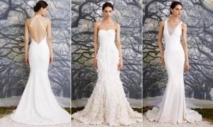 Váy cưới thanh thoát tôn nét đẹp cô dâu
