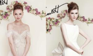 Váy cưới tôn ba vòng gợi cảm và bay bổng