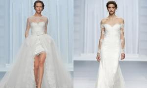 Váy cưới kiểu nữ thần sang trọng của Rosa Clara