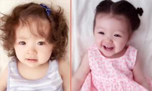 Con gái Elly Trần dễ thương như búp bê