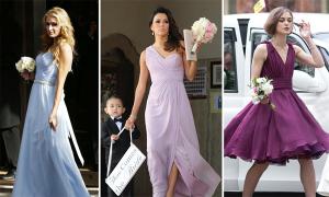 Sao diện váy tuyệt đẹp làm phù dâu đám cưới
